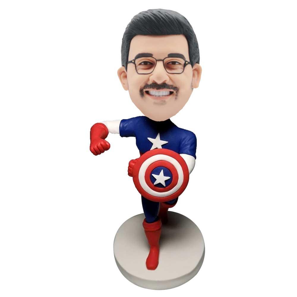 Custom-Captain-America-Bobblehead
