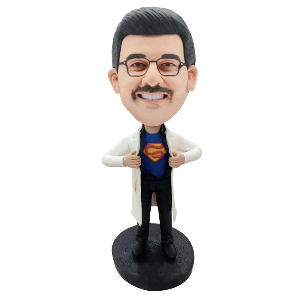 Custom-Handsome-Male-Superman-Doctor-Bobblehead
