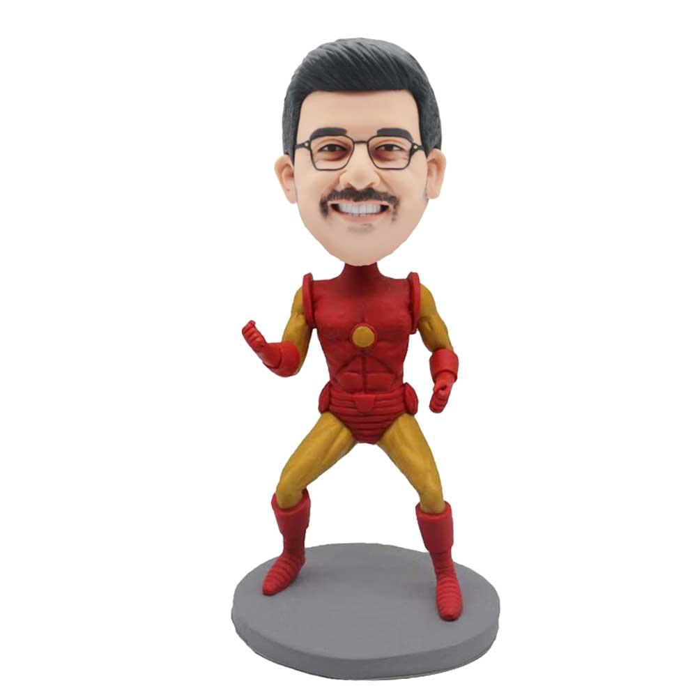 Custom-Iron-Man-Bobblehead-Making-A-Fist