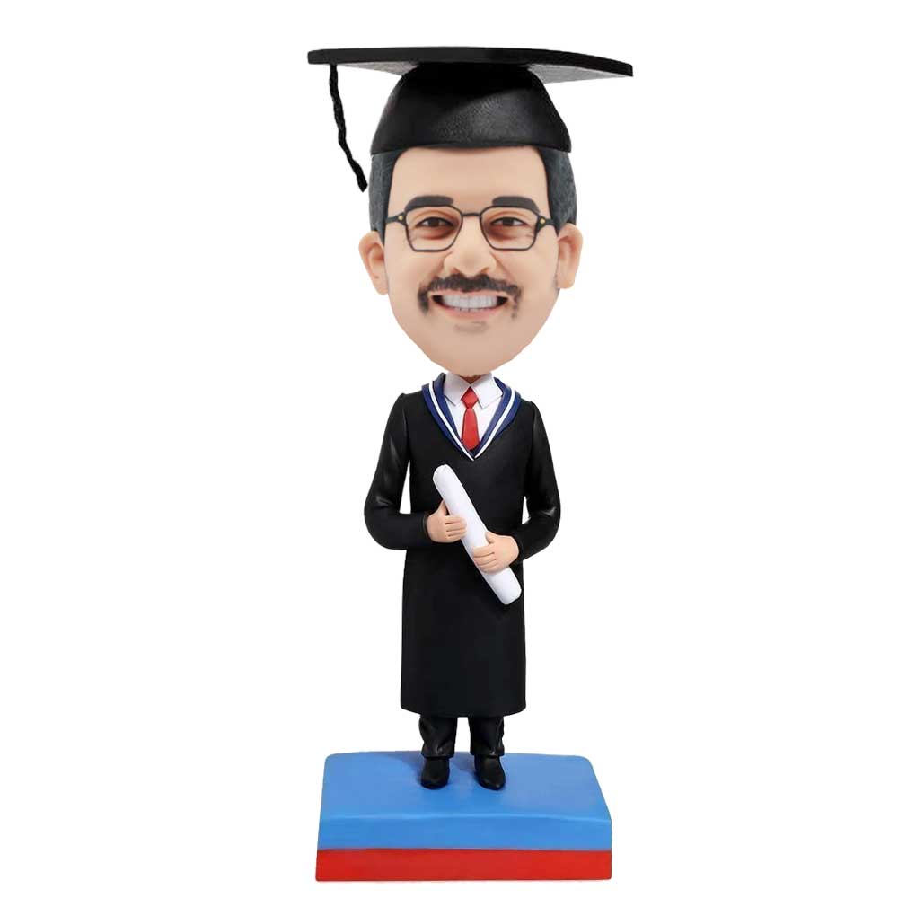 Custom-Male-Graduation-Bobblehead-In-Black-Gown-With-Diploma