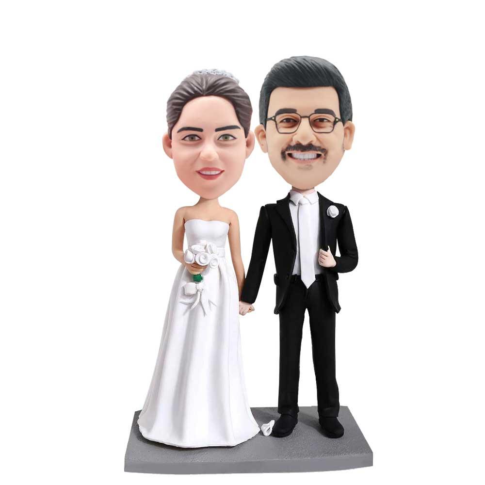 Custom-Wedding-Bobblehead-Hand-in-Hand-Wedding-Anniversary