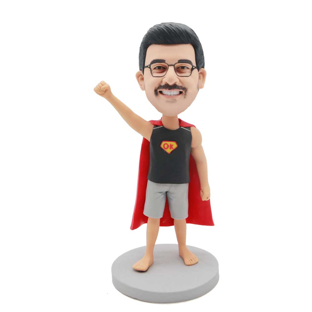 Custom-Superman-Bobblehead-With-Superman-Gestures