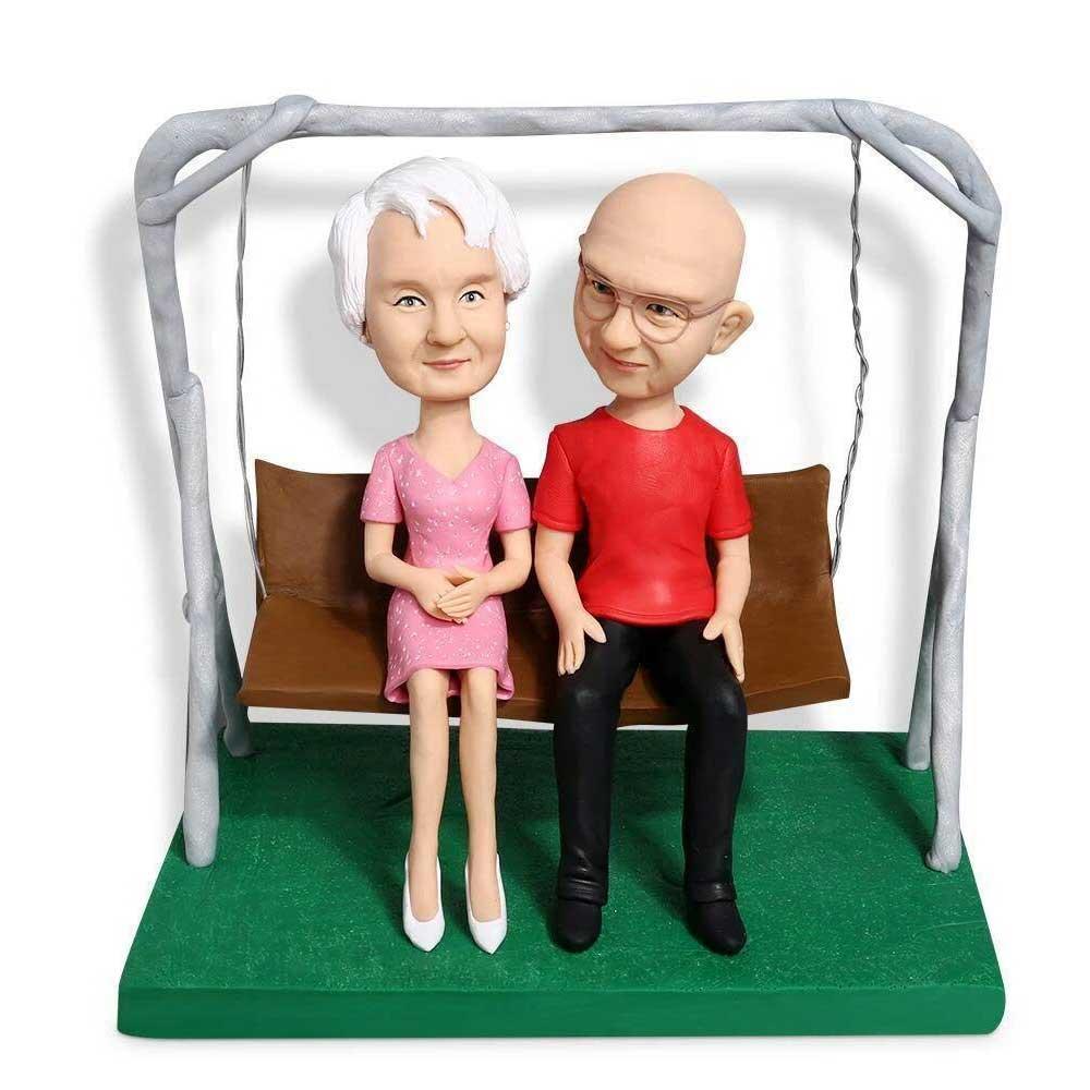 Custom-Sweet-Swinging-Couple-Bobblehead