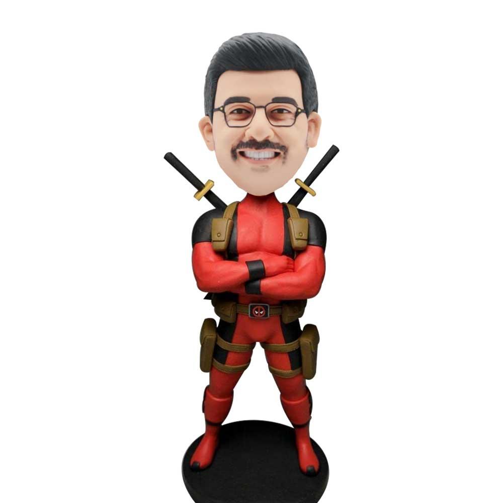 Custom-Deadpool-Bobblehead-And-His-Arms-Chest