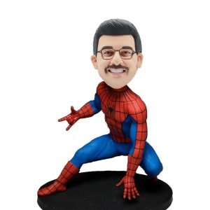 Custom-Spider-Man-Bobblehead-With-Classic-Gestures